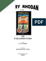 P-226 - Os Parasprinters - K. H. Scheer