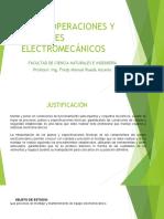 OPERACIONES Y MONTAJES ELECTROMECÁNICOS  (2)