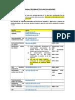 RELAÇÃO DE ÓRGÃOS - COMUNICAÇÕES URGENTES.pdf.pdf