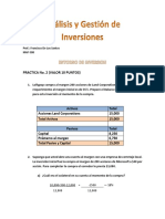 Analisis y Gestion de Inversiones