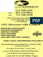 Experts for Driveways