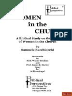 Women in the church.