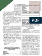 Resolución Ministerial N° 0135-2020-JUS