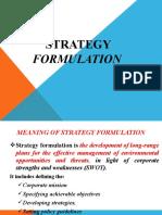 Strategic Mnagement