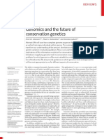 Genomics and the Future of Conservation Genetics