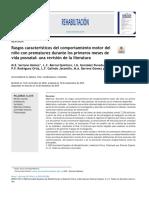 Rasgos característicos del comportamiento motor del ni˜no con prematurez durante los primeros meses de.pdf