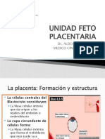 3.-UNIDAD FETO PLACENTARIA