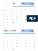 Calendario de fotos estacional1