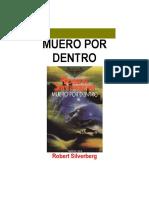 MUERO POR DENTRO - Robert Silverberg