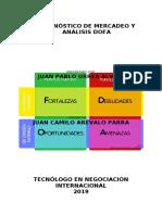 DIAGNÓSTICO DE MERCADEO Y ANÁLISIS DOFA.docx