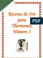 Recetas de Oro Para Thermomix