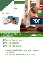 Modelos de enseñanza de la lectoescritura