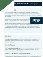 Apresentação Design da Informação