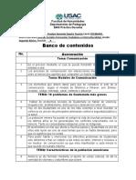 BANCO DE CONTENIDOS 22