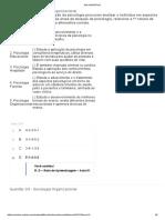 Apol 01 - Sociologia Organizacional e Psicologia Organizacional