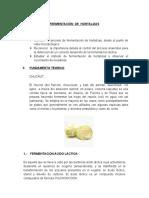 FERMENTACION DE HORTALIZAS