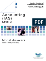 Accounting IAS Model Answers Series 4 2006 Old Syllabus