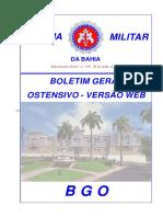 EXTRATO BGO 118