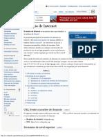 Dominio de Internet - Wikipedia, la enciclopedia libre