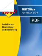 Handbuch Fritz Box