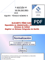 Sistema de Gestion Basado en  la ISO 9001 2015