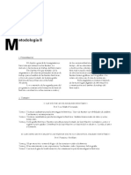 programa Metodolog°a II