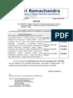 Exam.Fee Circular June 2020