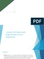 PERICIAS E LAUDOS DE ENGENHARIA