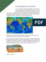 La localización geográfica de Los Volcanes