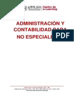 UNIDAD 1 MODULO 1 Principios Generales de Administracion