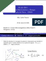 Potencial Electrostático y Energía