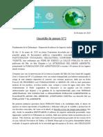 Gacetilla II - Fundamento de La Ordenanza - Respuesta Al Informe de Impacto Ambiental