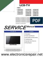 Samsung LE32-55C630-670 шасси N84A