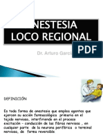 ANESTESIA LOCO-REGIONAL-DR.GARCIA PEREZ