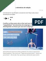 As _pegadinhas_ das entrevistas de seleção _ Como ir bem nas entrevistas de emprego.pdf