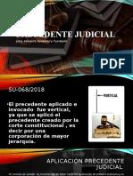 PRECEDENTE JUDICIAL