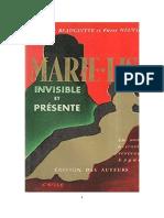 Marie-Lise - Invisivel e Presente (Pierre Neuville)