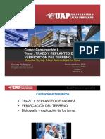 SEMANA 4 - Trazo y replanteode la Obra, verificación del terreno.pdf