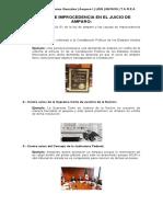 CAUSAS DE IMPROCEDENCIA EN EL JUICIO DE AMPARO