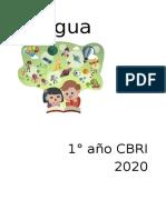 Secuencia n 1 - 1año cbri 2020