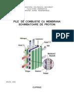 Pile de Combustie Cu Membrana Schimbatoare de Protoni