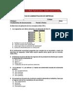 Parcial 2 microeconomía 2020-01 grupo 001