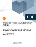 Robotic Process Automation (RPA) Report From IT Central Station 2020-04-13