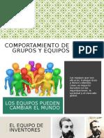 Comportamiento de grupos y equipos 8 semestre