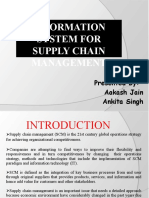Information System for Supply Chain Management