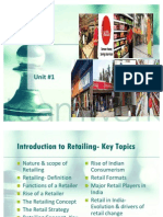 Unit1 Introduction to Retailing