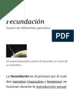 Fecundación - Wikipedia, la enciclopedia libre.pdf
