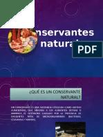 CONSERVANTES NATURALES DE CARNE