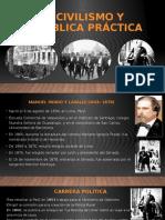 1° CIVILISMO Y REPÚBLICA PRÁCTICA