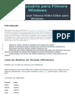 Guia Do Usuário Para Filmora Windows
